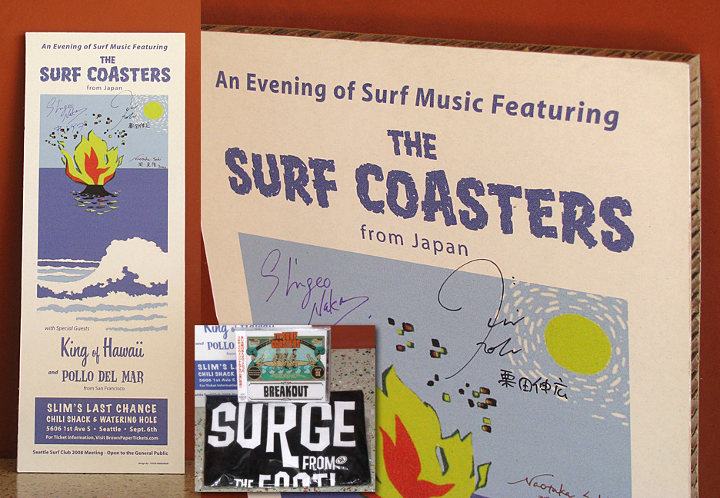 Surf Coasters Poster & Swag